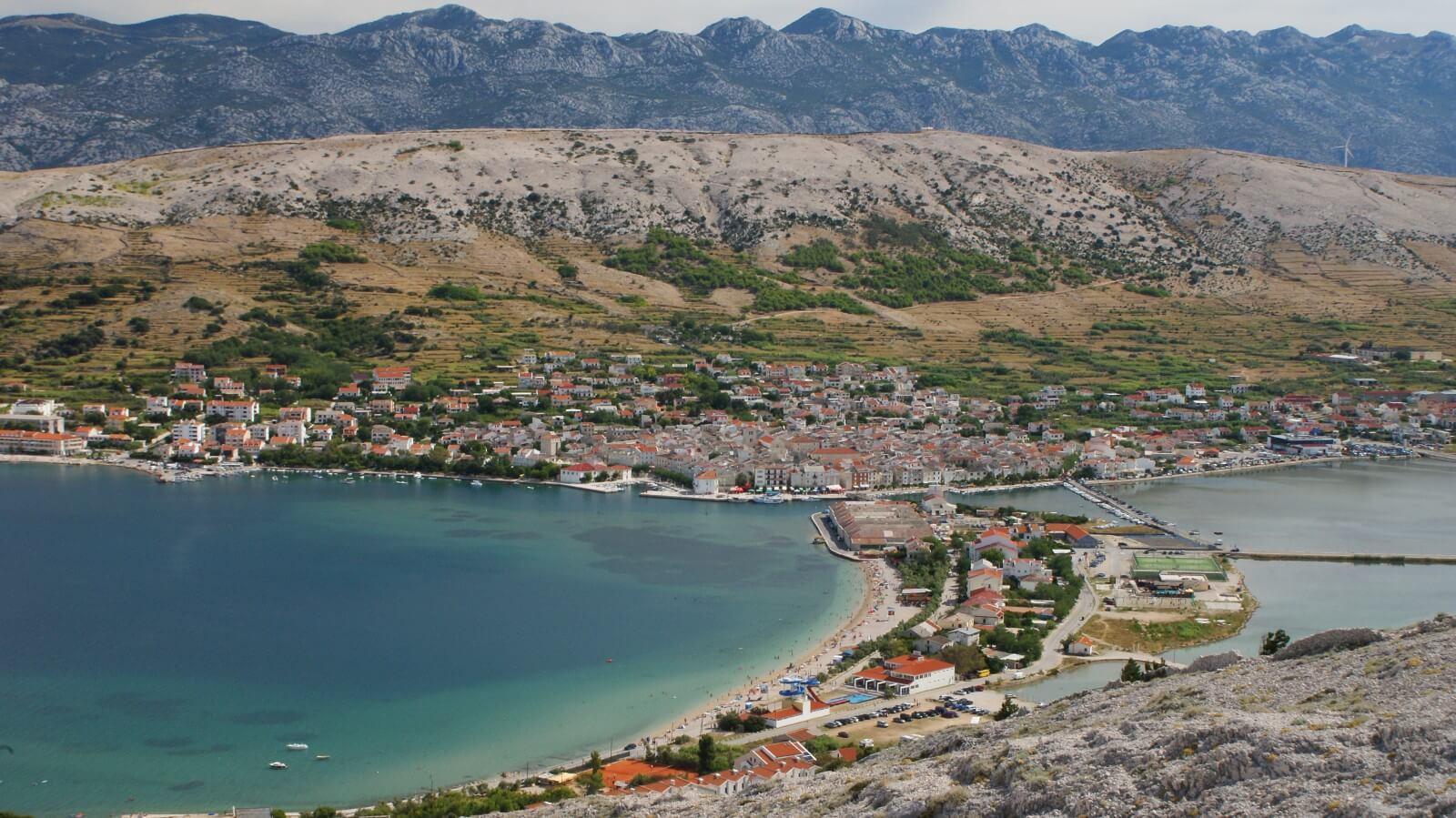 kroatie motorreizen pag
