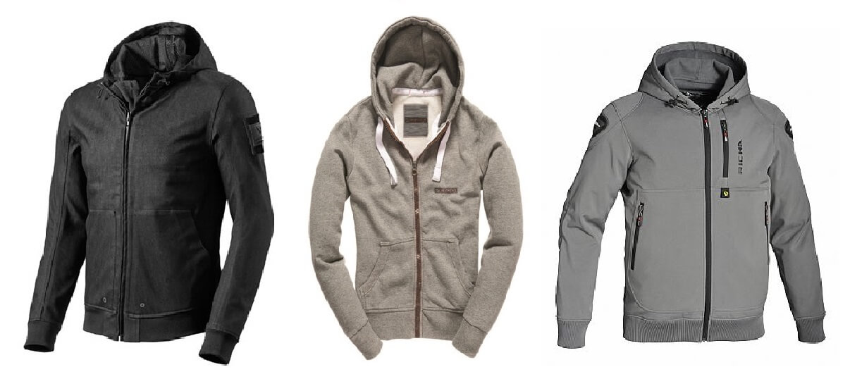 top 3 beste motorhoodies motorvesten