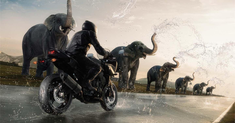 waterdichte motorkleding ademend