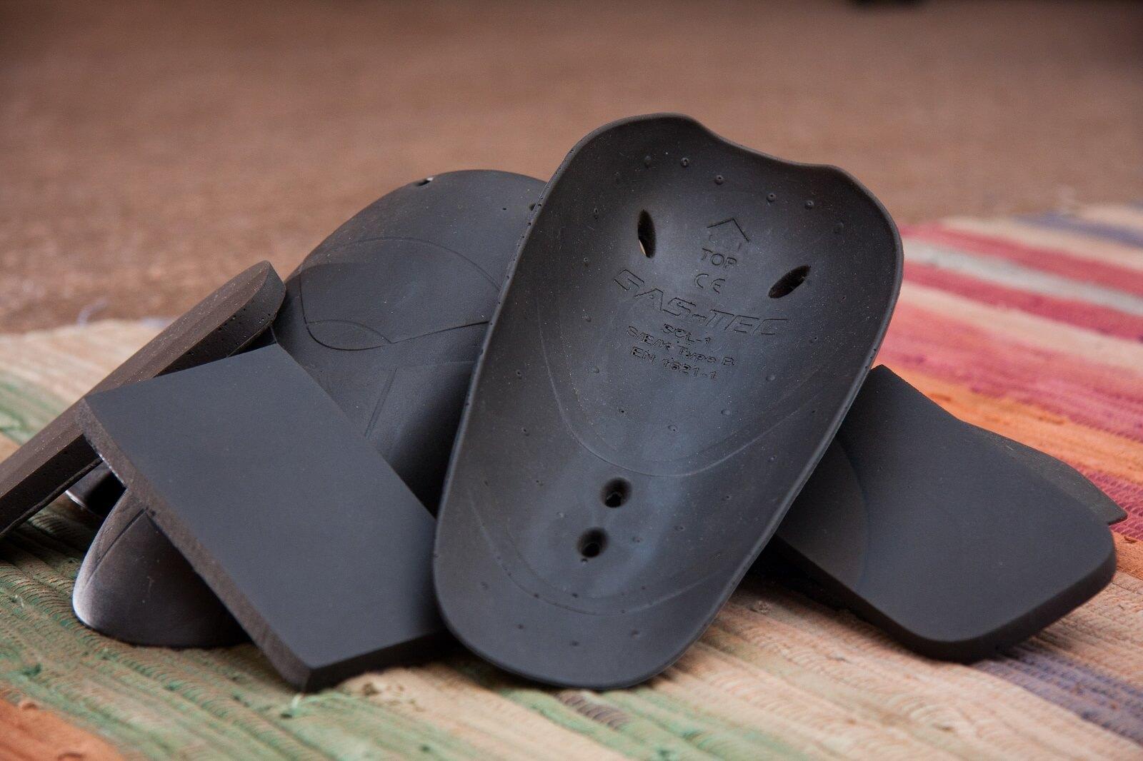 Sas-tec knieprotectoren kevlar