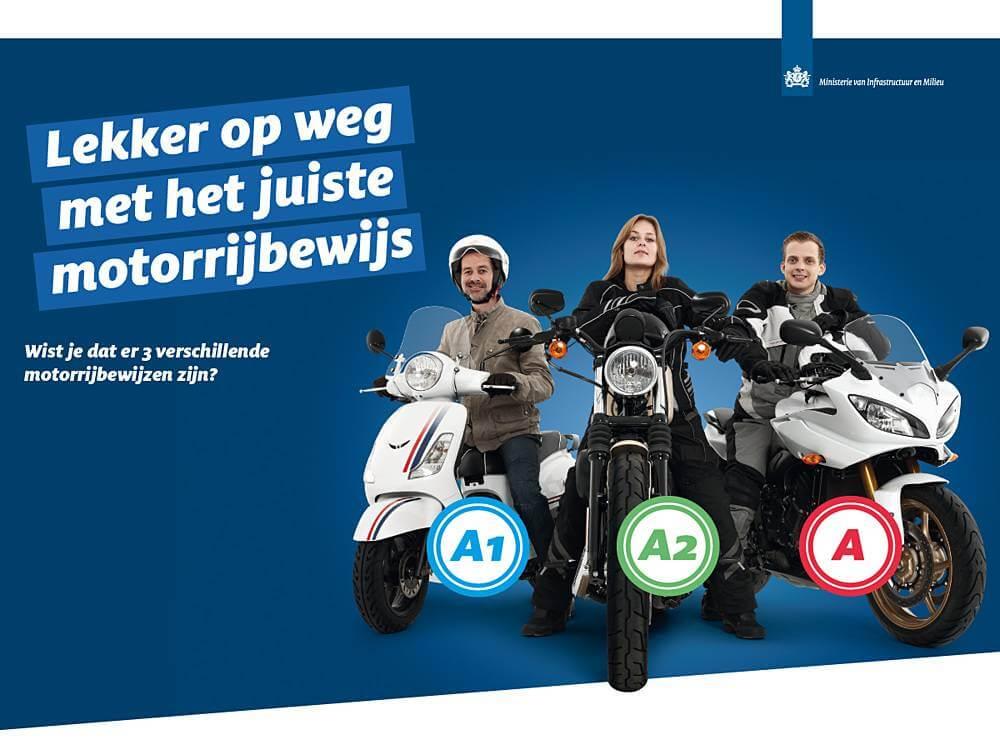 motorrijbewijs categorien