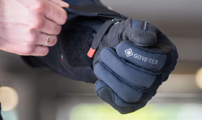 motorhandschoen, gore-tex, winterhandschoen