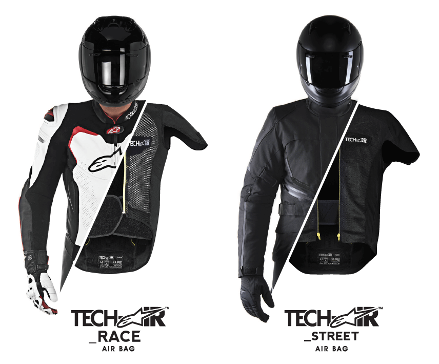 alpinestars tech air airbag systeem race en street