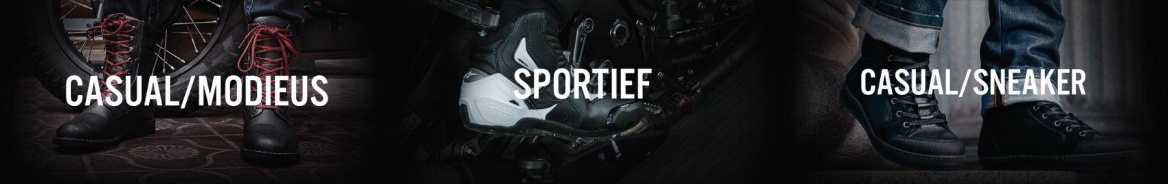 casual sportieve en modieuze motorschoenen