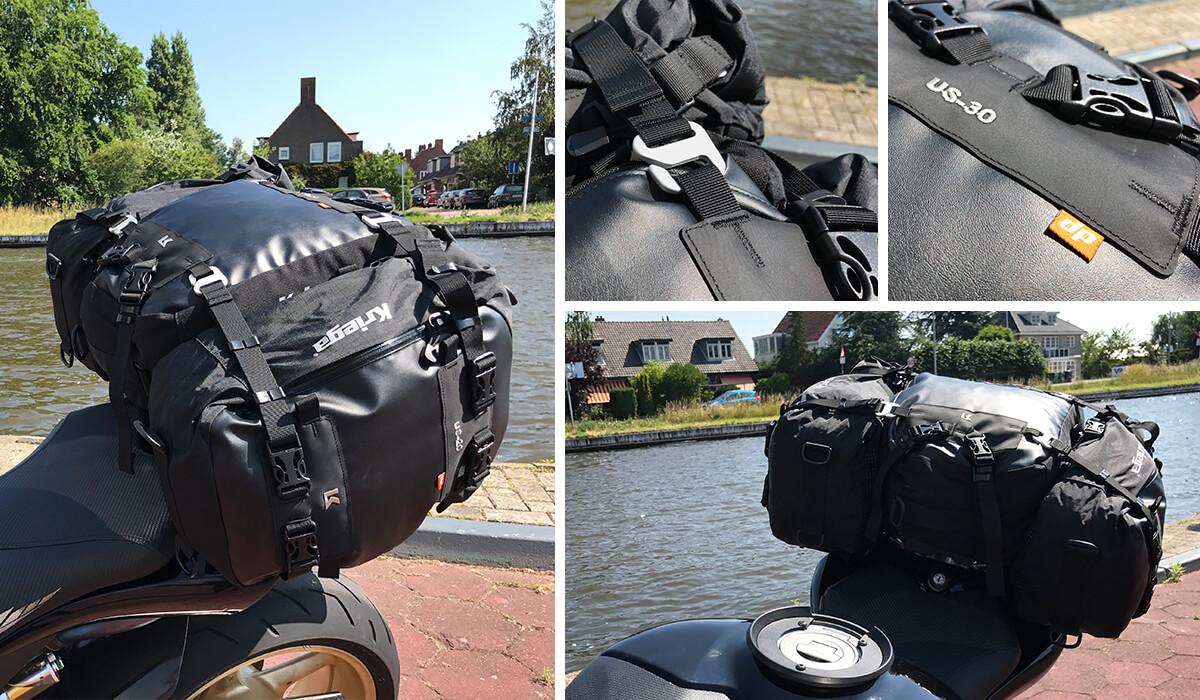 Kriega US drypack sportmotor motorbagage