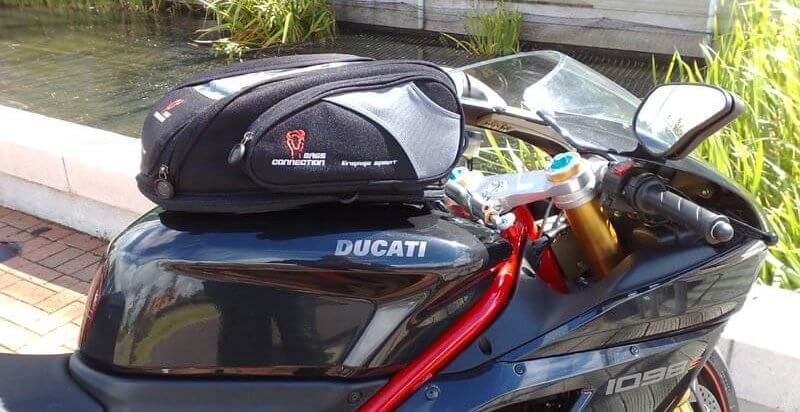 SW Motech tanktas motorbagage