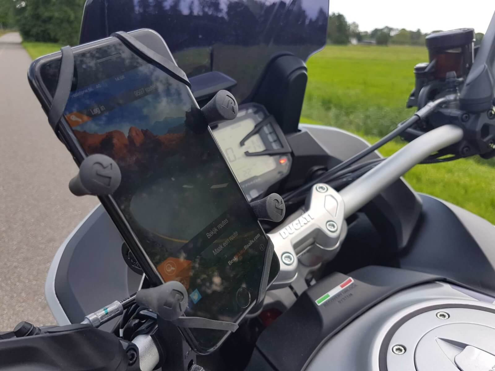 Best Riding Routes app voor smartphone