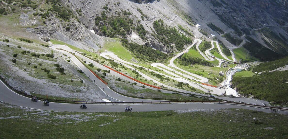 Passo di Gavia motorroutes