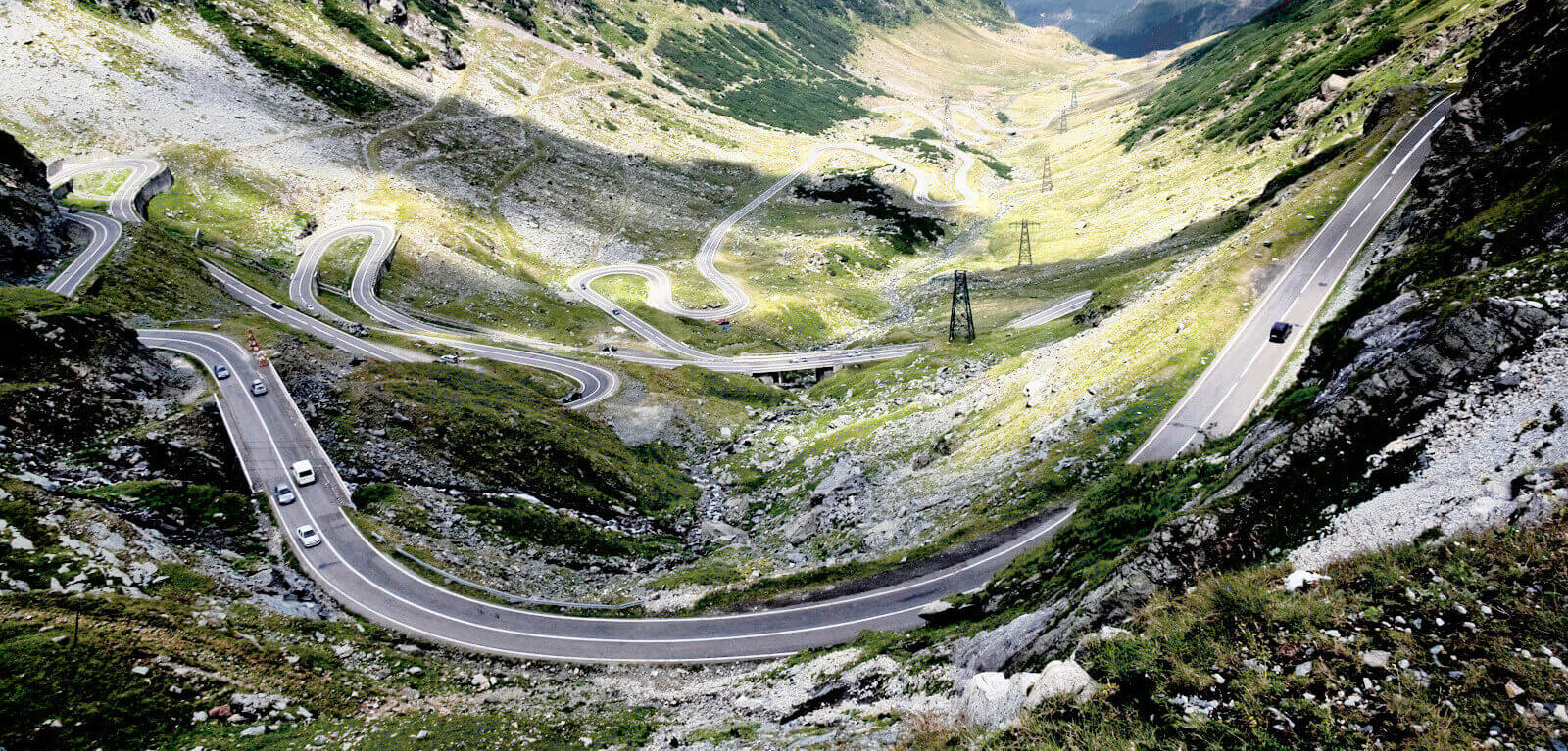 Transfagarasan in Roemenië als mooiste motorroutes