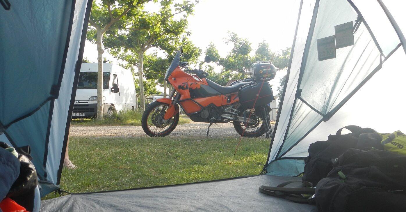 motorreizen checklist kamperen