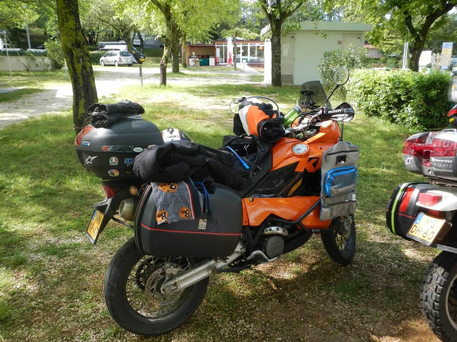 motorvakantie checklist motorreizen