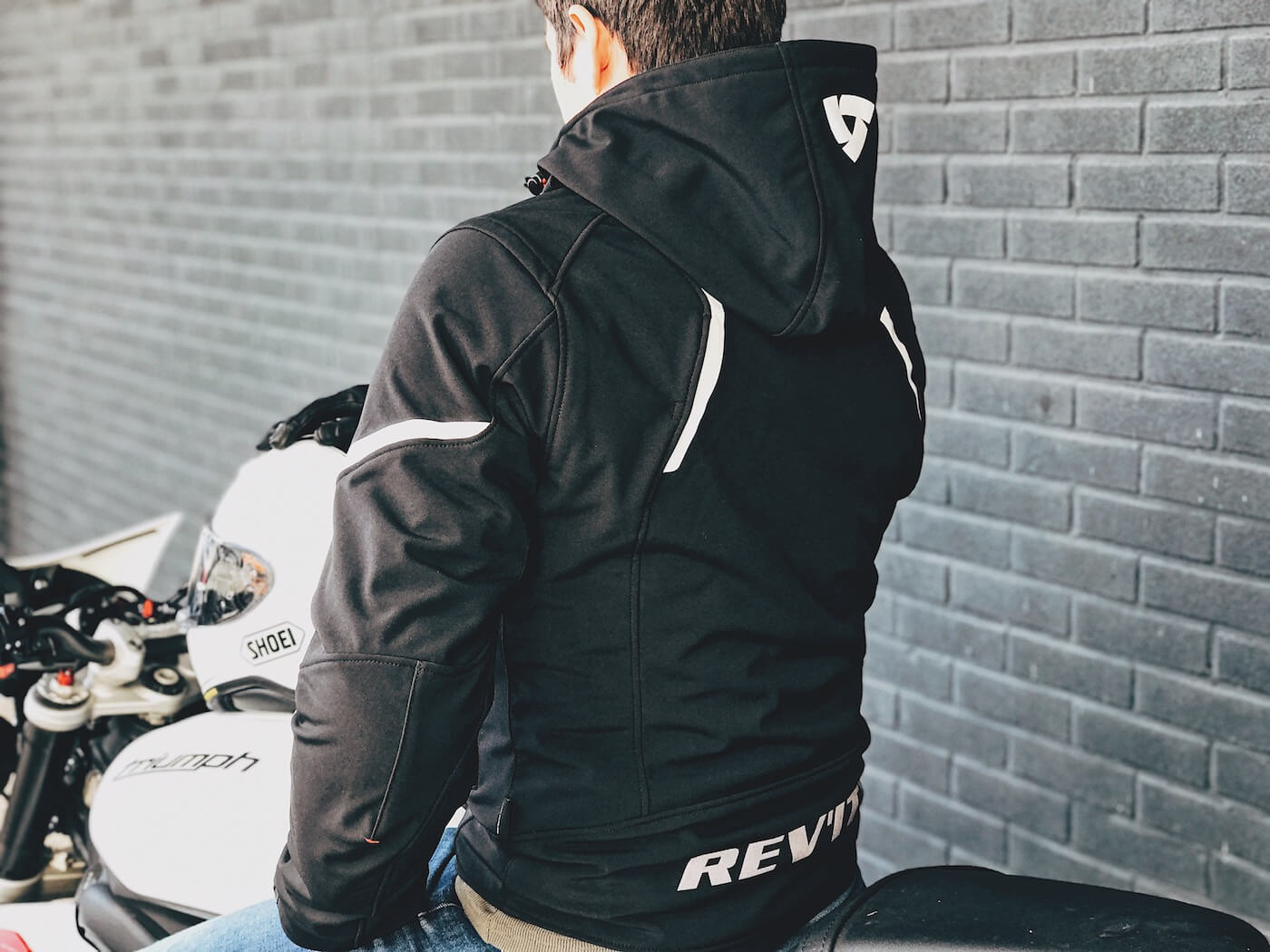 REV'IT! Burn softshell motorjacket