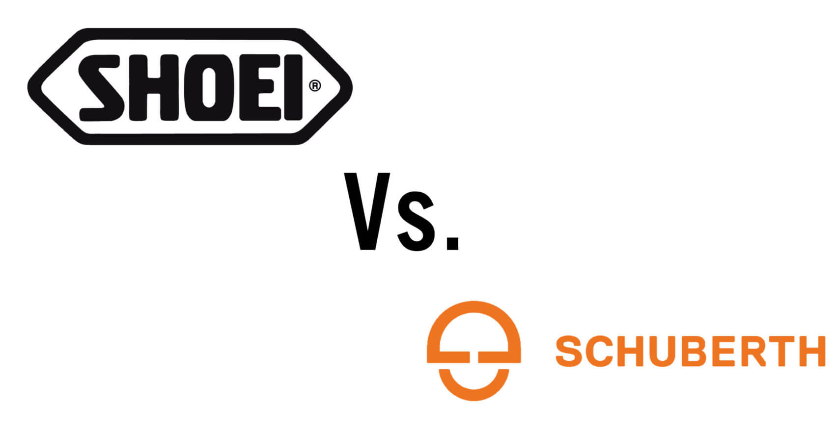 shoei vs schuberth