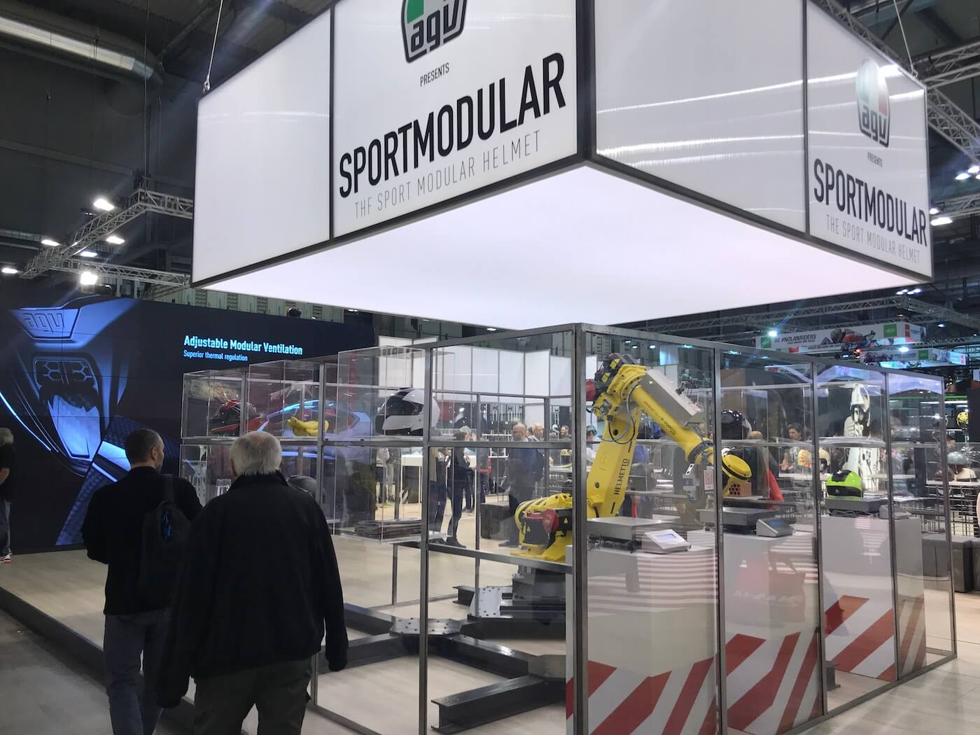 AGV Sportmodular op EICMA 2017