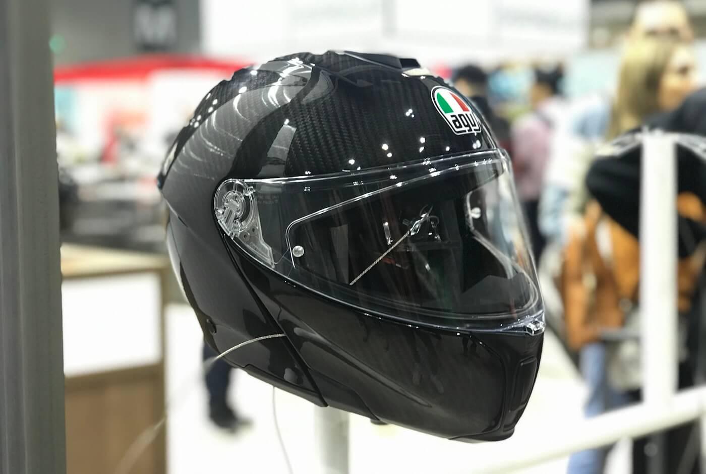 AGV Sportmodular Solid Matt Carbon