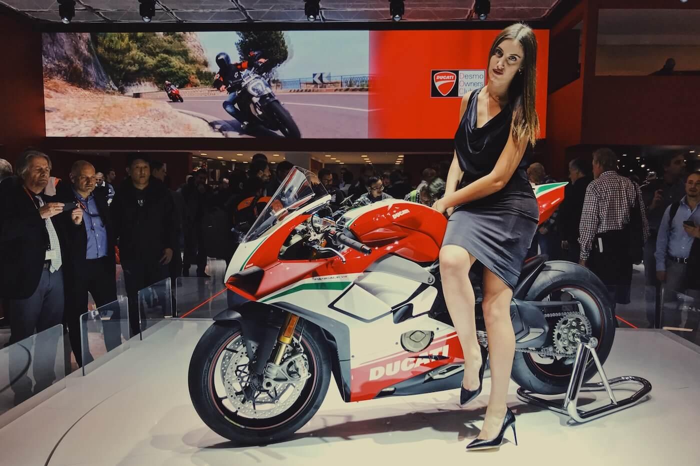 Ducati Panigale V4 motoren 2018
