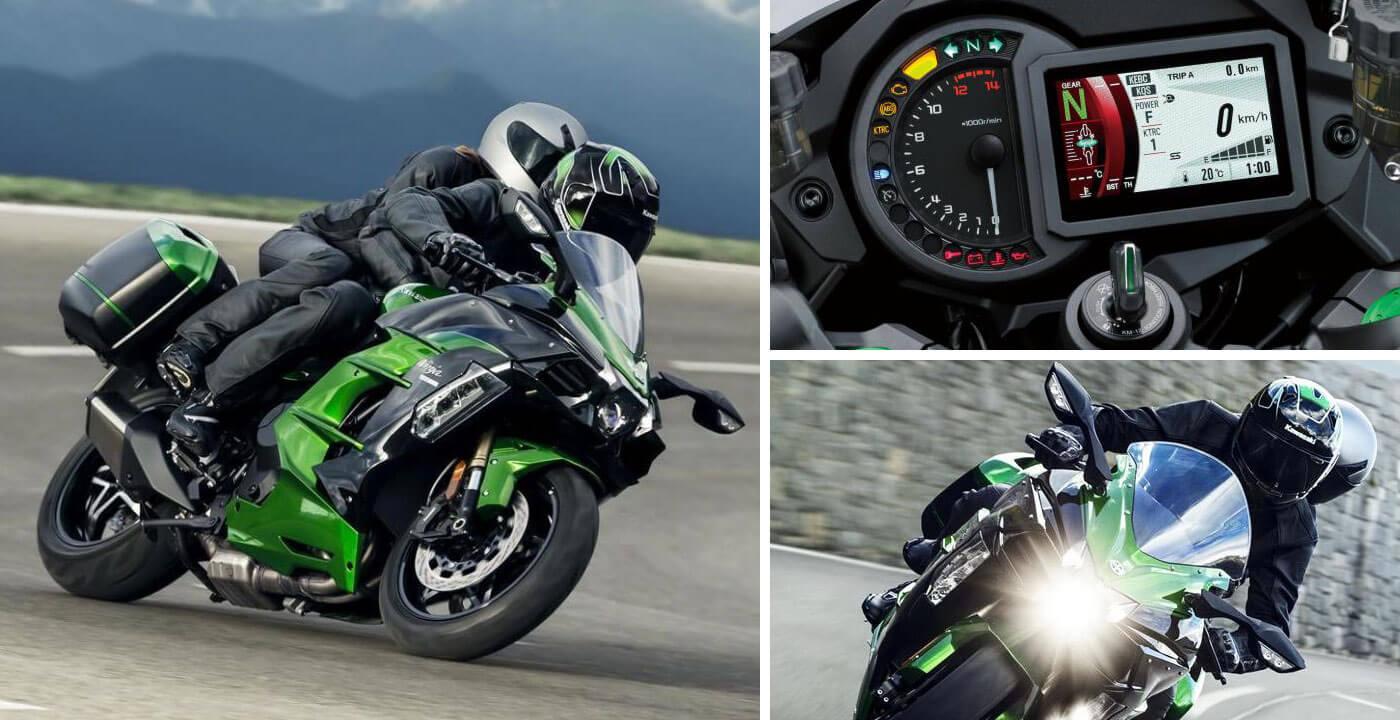 Kawasaki Ninja H2 SX motoren 2018
