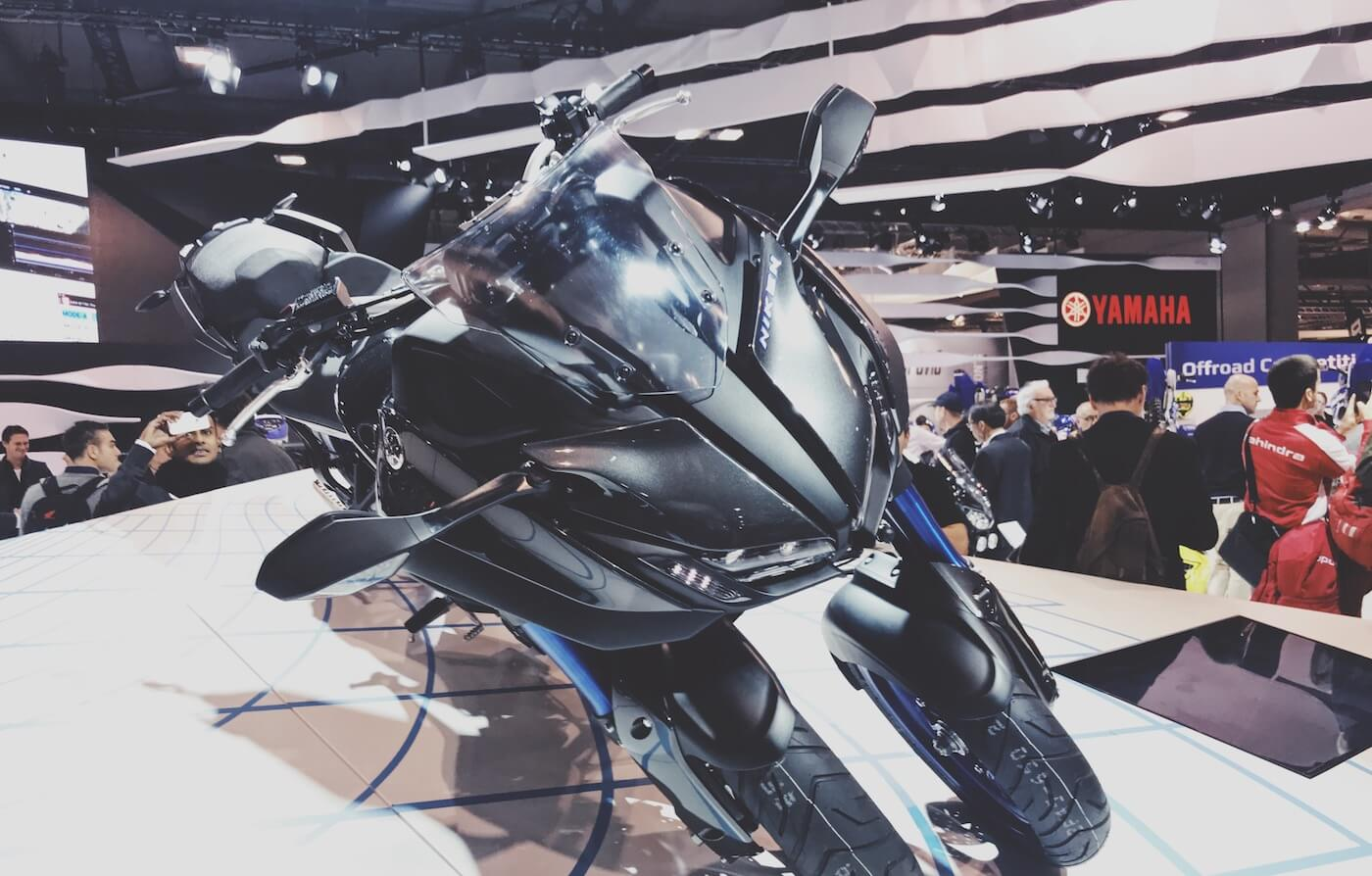 Yamaha Niken motoren 2018