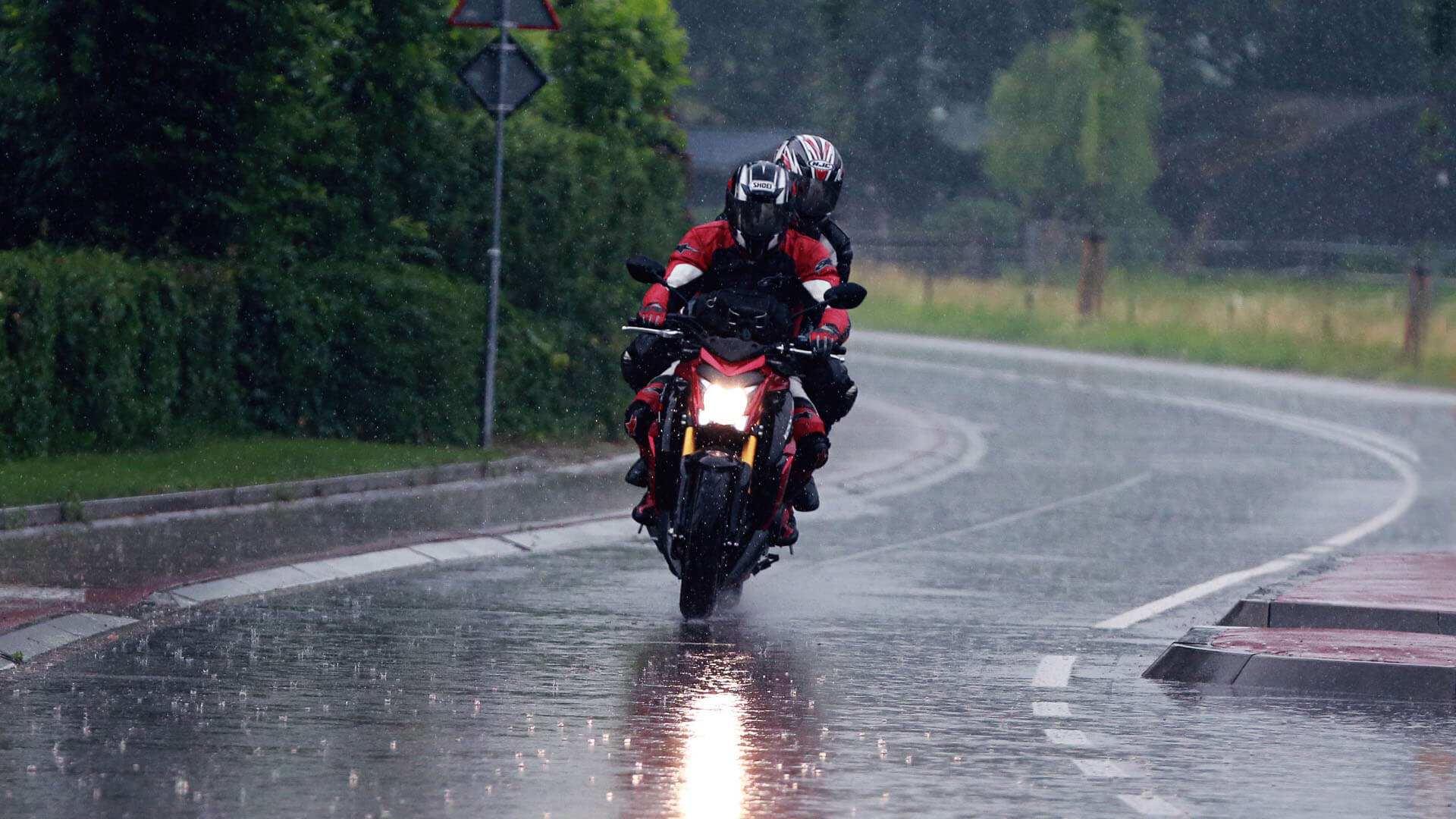 Waterdichte motorkleding