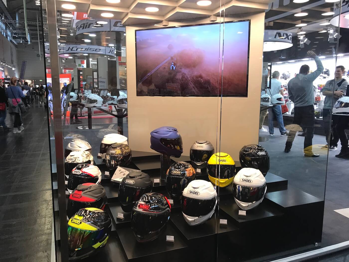 Shoei GT-Air II introductie op Intermot 2018