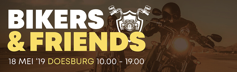 BIkers & Friends event in samenwerking met Only for Men