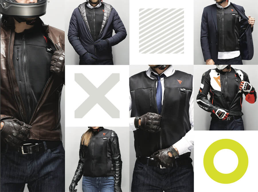 Dainese Smart Jacket D-Air motorairbag voor alle motorriijders