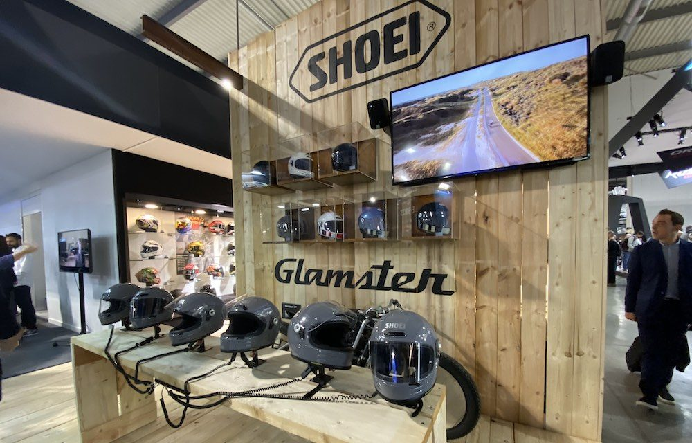 Shoei Glamster op EICMA 2019 onthuld