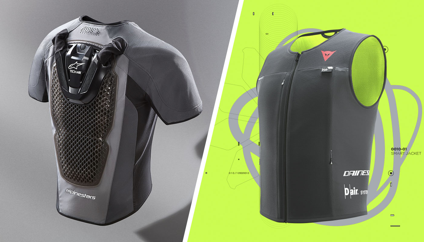 Alpinestars Tech-Air 5 vs. Dainese Smart Jacket