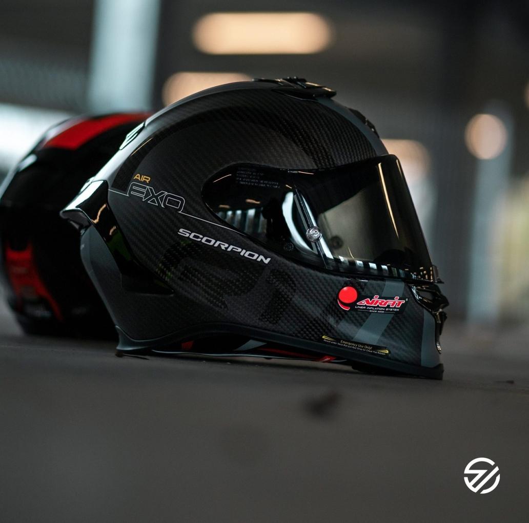nieuwe collectie scorpion helmen 2021