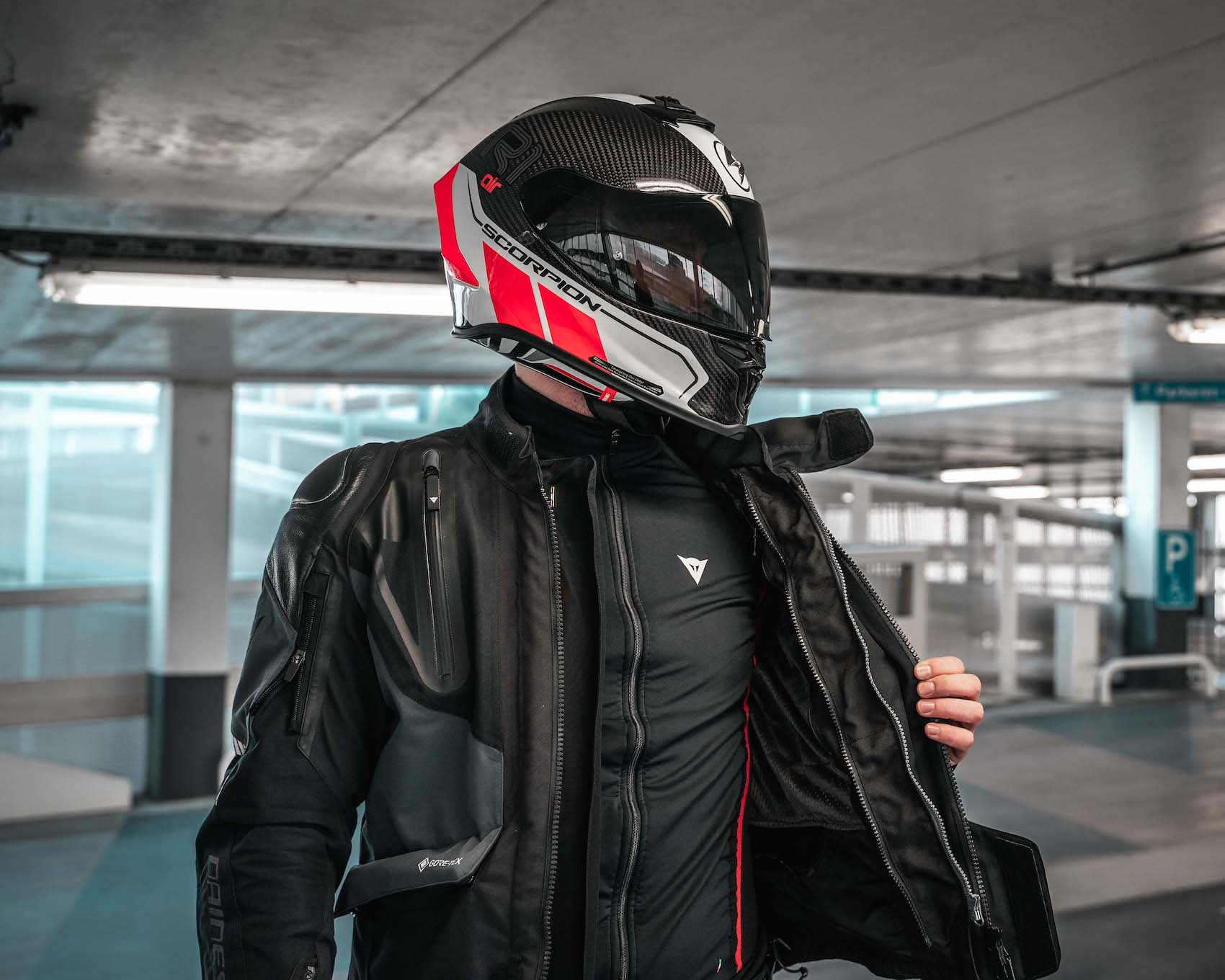 Motorkleding laagjes