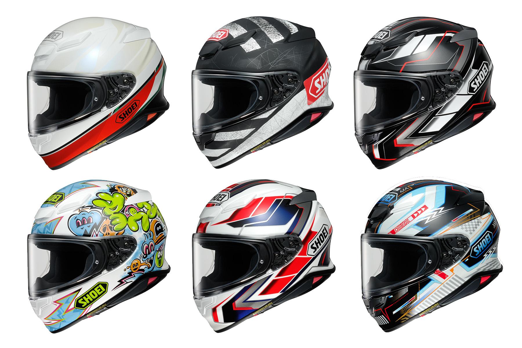 Shoei NXR2 line-up